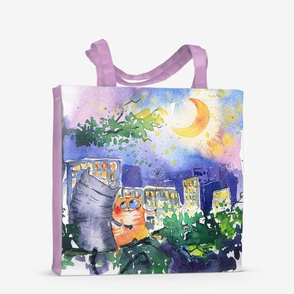 Сумка-шоппер «Теплая ночь»