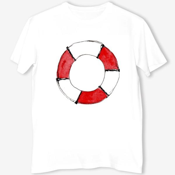 Футболка «Спасательный круг: мне и другу...»