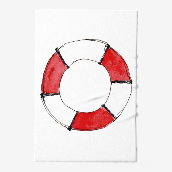 Полотенце «Спасательный круг: мне и другу...»