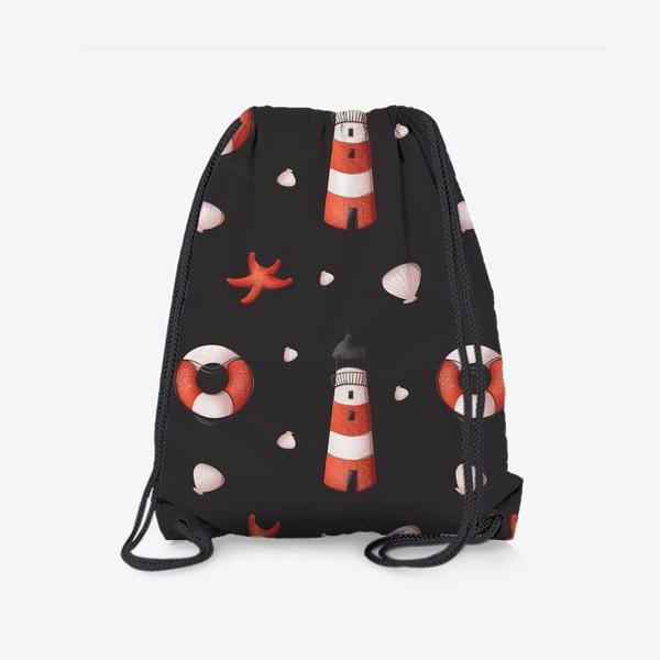 Рюкзак «Морской паттерн»