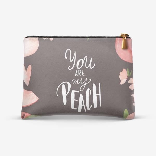 Косметичка «Ты мой персик»