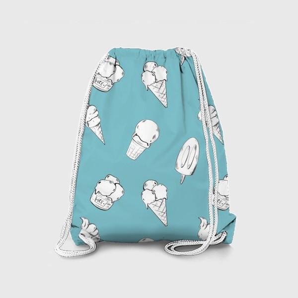 Рюкзак «Мороженое бирюзовое»