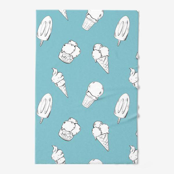 Полотенце «Мороженое бирюзовое»