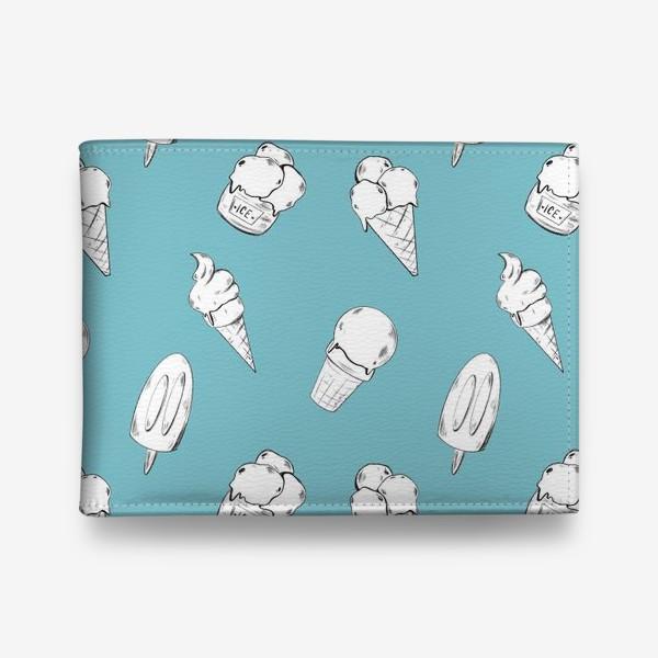 Кошелек «Мороженое бирюзовое»