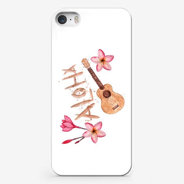 Чехол iPhone «Лето с укулеле»