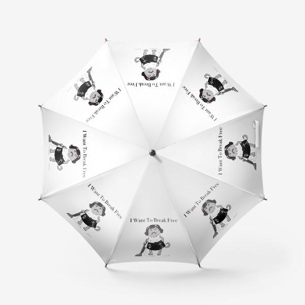 Зонт «Freddie MEOWcury»