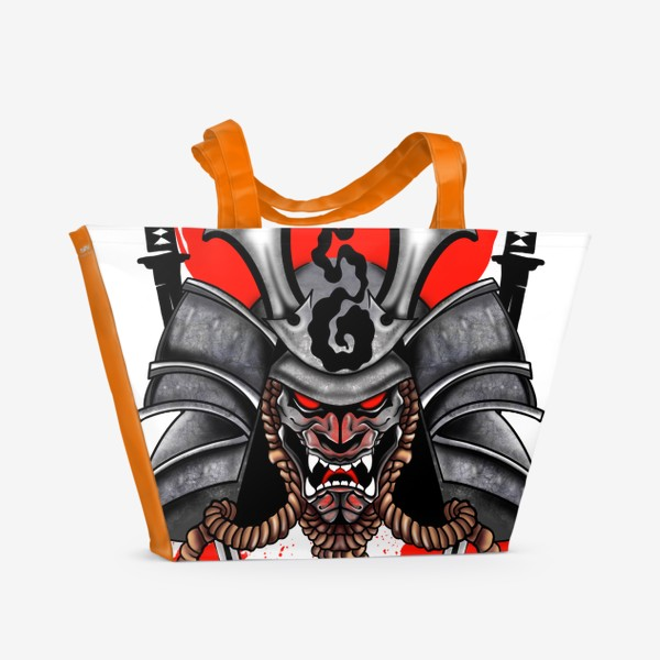 Пляжная сумка «Самурай»