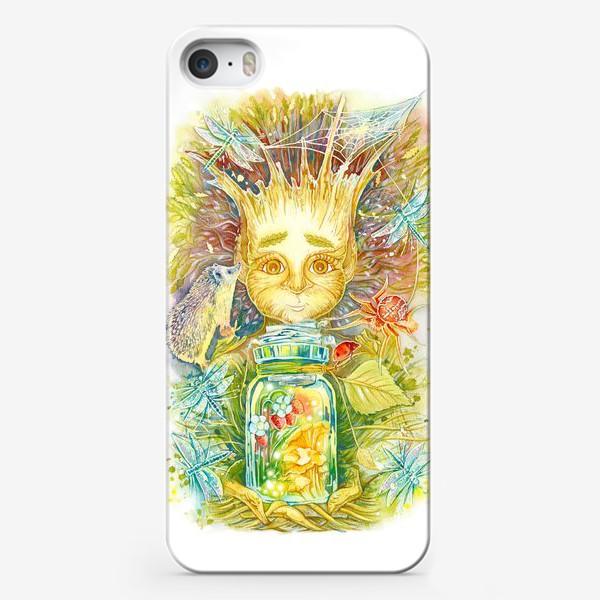 Чехол iPhone «Сказочный леший»