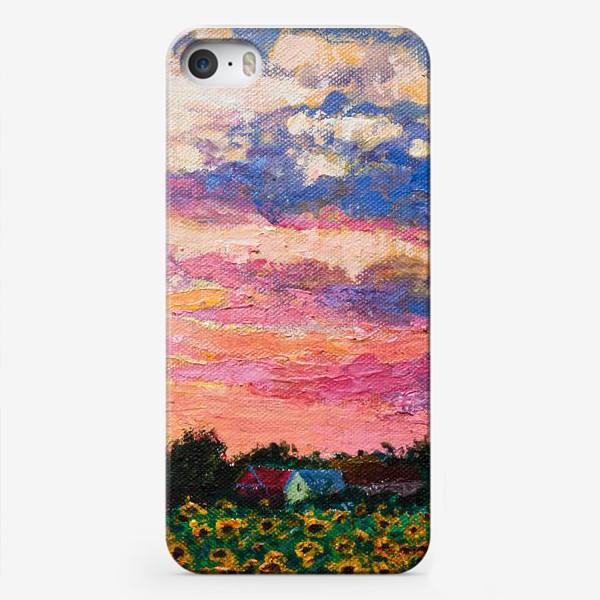 Чехол iPhone «Летний пейзаж »