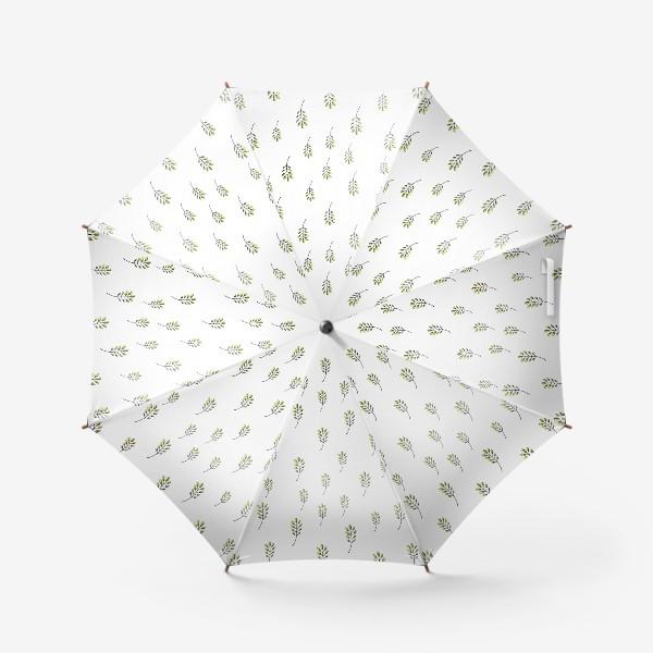 Зонт «Растительный принт»