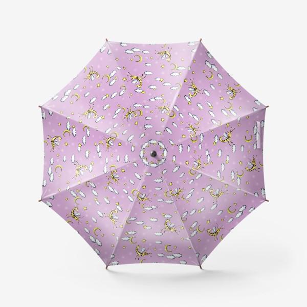Зонт «Паттерн детский с жирафами»