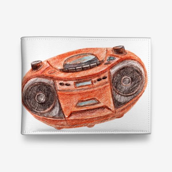 Кошелек «Оранжевый магнитофон»