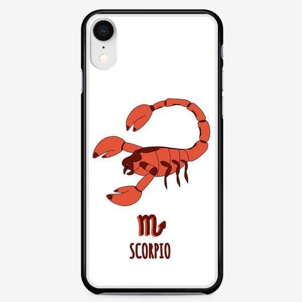 Чехол iPhone «скорпион»