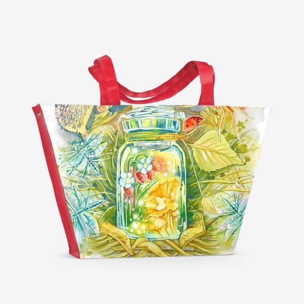 Пляжная сумка «Сказочный леший»