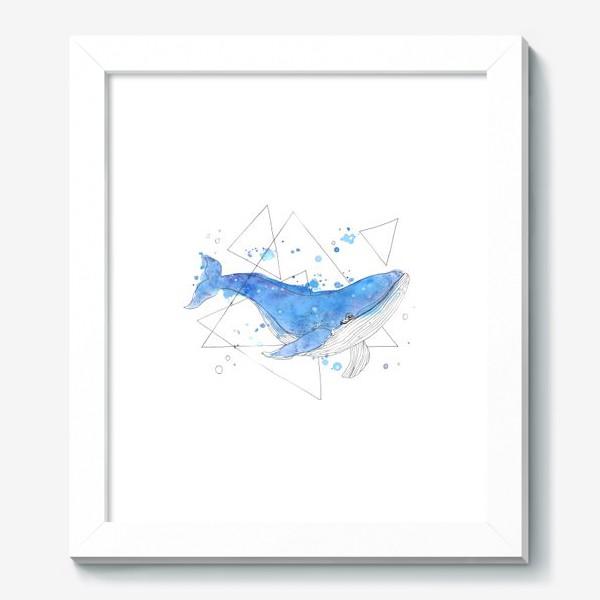 Картина «небесный кит»