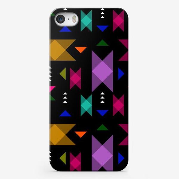Чехол iPhone «Яркий геометрический паттерн.»