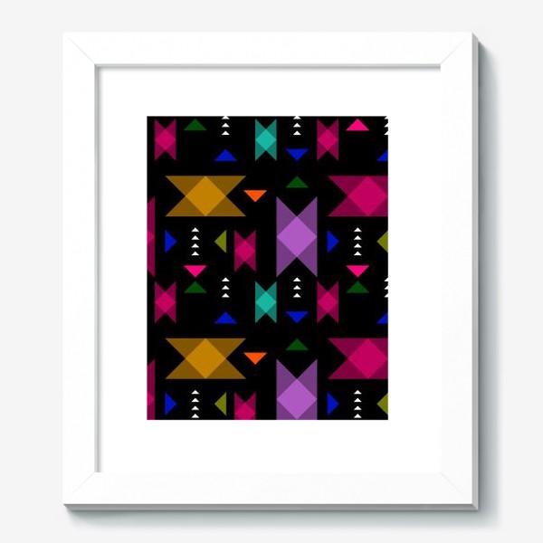 Картина «Яркий геометрический паттерн.»