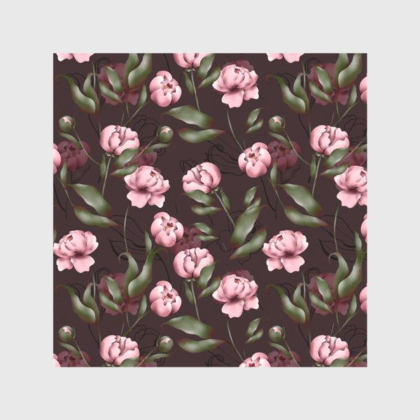 Скатерть «Розовые пионы»