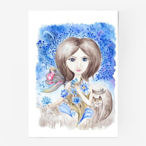Постер «Цветочная фея»