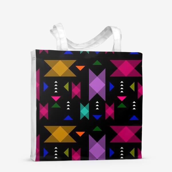 Сумка-шоппер «Яркий геометрический паттерн.»