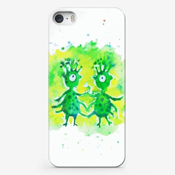 Чехол iPhone «Инопланетяне»