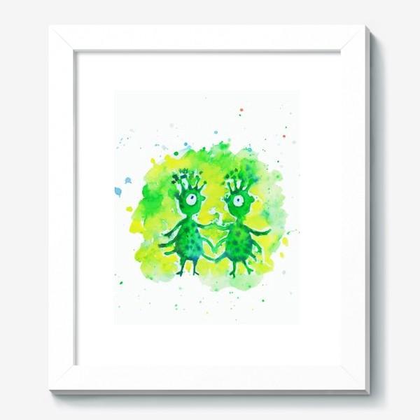 Картина «Инопланетяне»