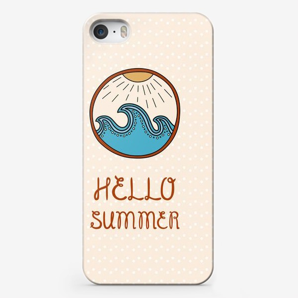 Чехол iPhone «Hello summer_4»