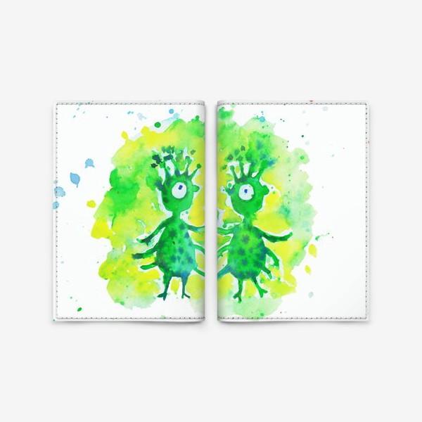 Обложка для паспорта «Инопланетяне»