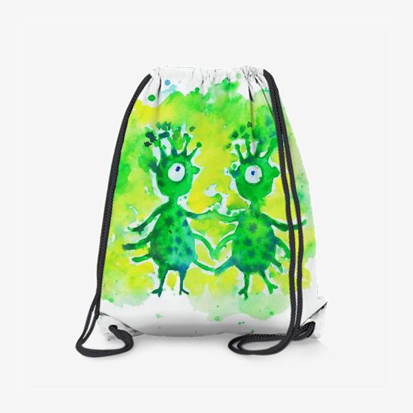 Рюкзак «Инопланетяне»
