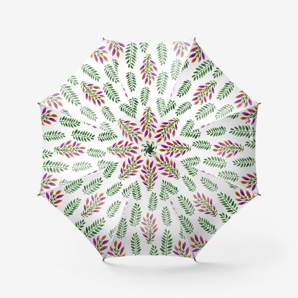 Зонт «Тропическая магия листьев»