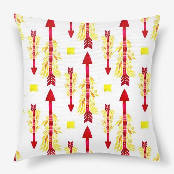 Подушка «Огненные стрелы энергии»