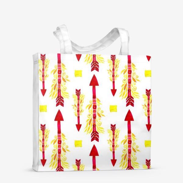Сумка-шоппер «Огненные стрелы энергии»
