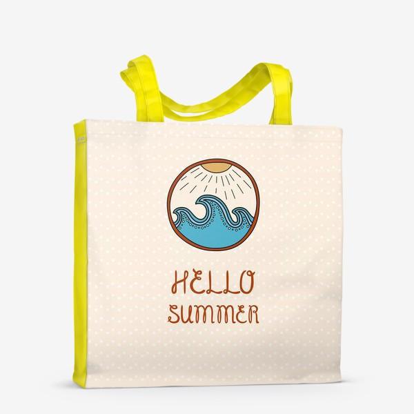 Сумка-шоппер «Hello summer_4»