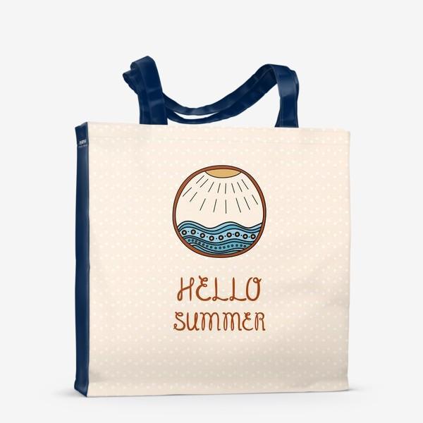 Сумка-шоппер «Hello summer_1»
