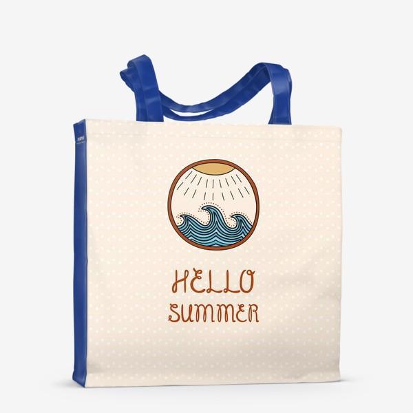 Сумка-шоппер «Hello summer_2»