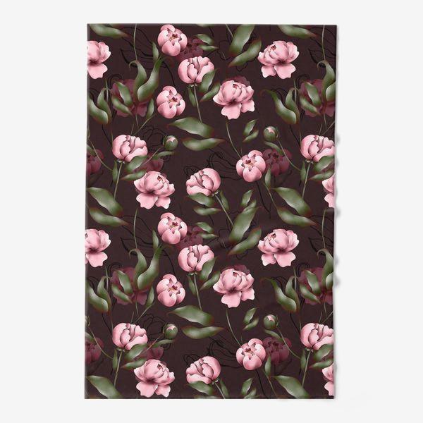 Полотенце «Розовые пионы»