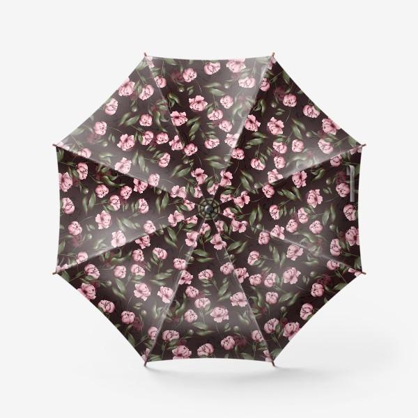 Зонт «Розовые пионы»