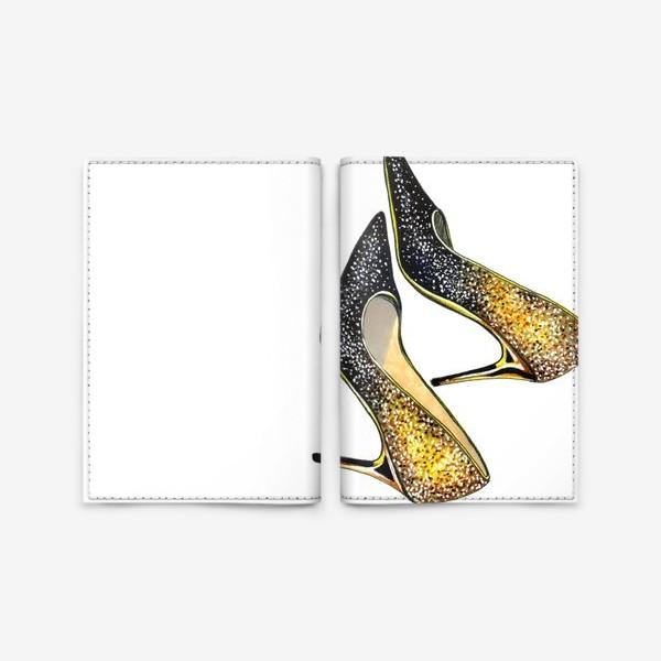 Обложка для паспорта «Золотые туфельки»