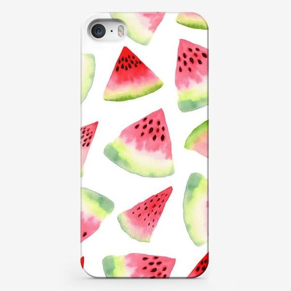 Чехол iPhone «Летние арбузы»