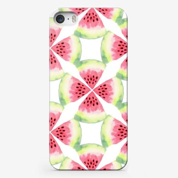 Чехол iPhone «Арбузный орнамент»