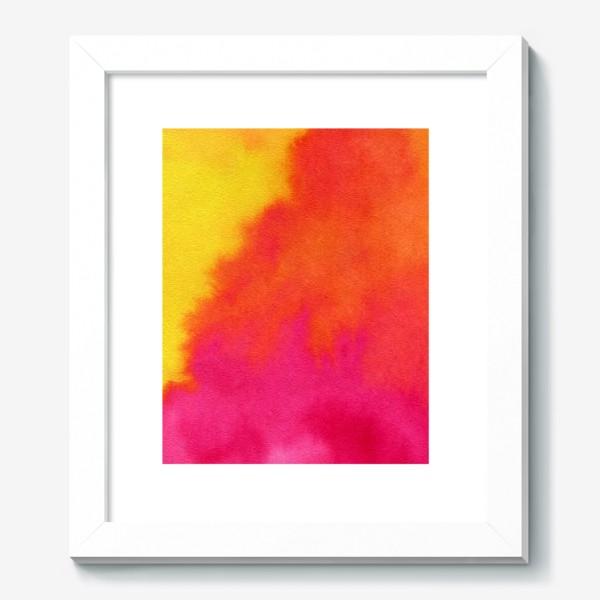 Картина «Жаркая душа лета. Акварель»