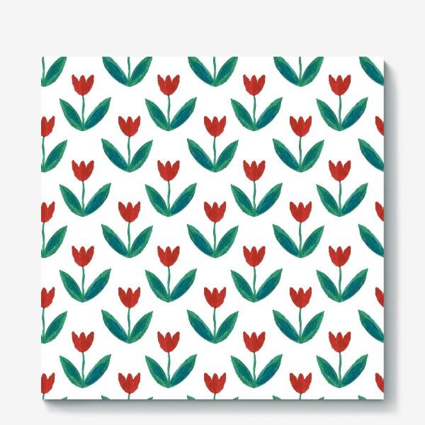 Холст «Милые тюльпаны»