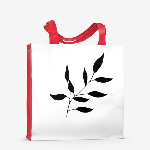 Сумка-шоппер «Силуэт листьев»