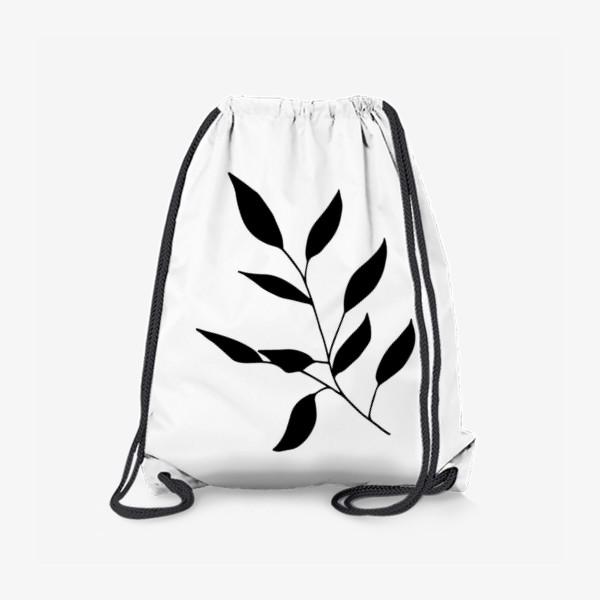 Рюкзак «Силуэт листьев»