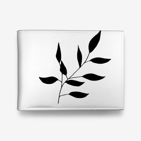 Кошелек «Силуэт листьев»