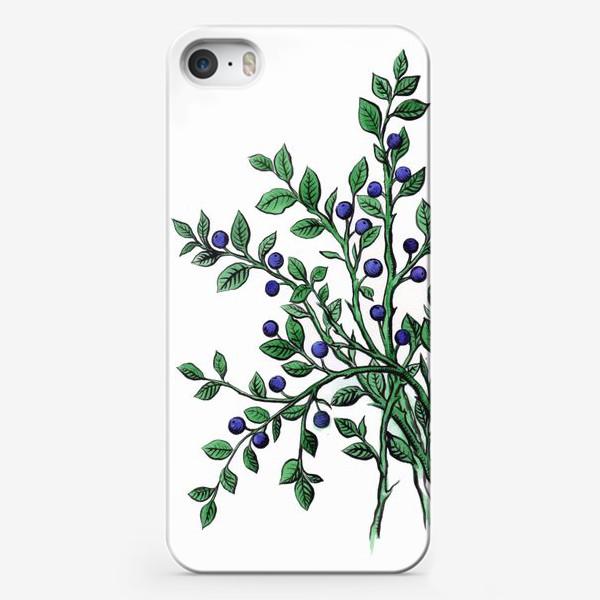Чехол iPhone «ягода черника»