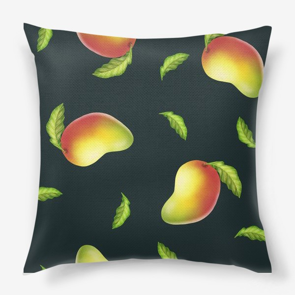 Подушка «манго»