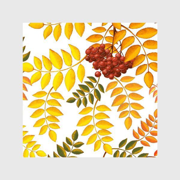 Шторы «лиственный паттерн»