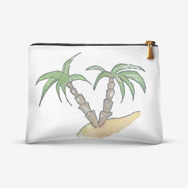 Косметичка «Море и пальмы»