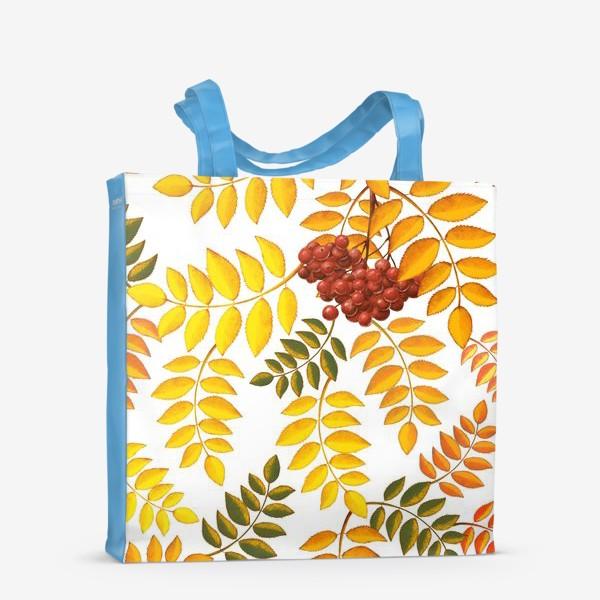 Сумка-шоппер «лиственный паттерн»